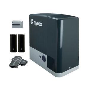 V2 AYROS Electromechanical Sliding Gate Automation Kit