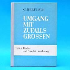 Umgang mit Zufallsgrößen | Günter Herfurth | DDR EA 1970 Teil 1