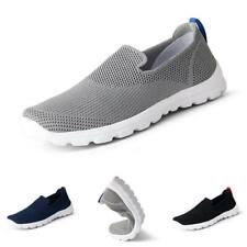 39-48 Mens Fashion Sneakers Shoes Mesh Breathable Gym Sports Walking Non-slip B