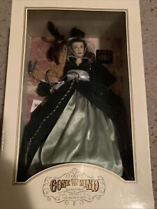 *Gone With The Wind The Franklin Mint Scarlett O'Hara Vinyl Portrait Doll