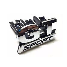 Chrome GT SPORT Symbol Car ABS Front Hood Grille Emblem Sticker for MK4 MK5 MK6