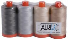 Aurifil Thread 50 wt Cotton 4 Spools - Astuccio Collection