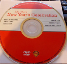 Martha's New Year's Celebration (DVD) Disc Only - Free Shipping