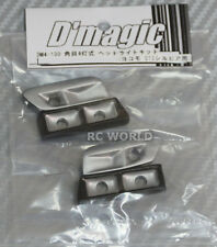 D'Magic 1/10 RC Car FRONT LIGHT BUCKETS For NISSAN Silvia S13   -Painted-