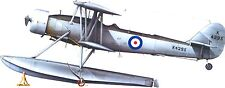 Blackburn T.B.Twin UK Fighter Airplane Mahogany Kiln Wood Model Small