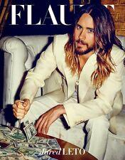 FLAUNT Magazine,Jared Leto,Robbie Rogers NEW