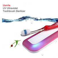Usmile Toothbrush Sanitizer Electric UV Sterilizer Holder Personal 4Colors 1pcs