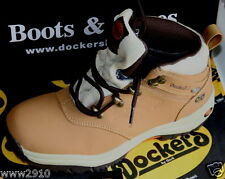 DOCKERS  Neu  BOOTS DOCKTEX KOMBI Leder Gr 36/37