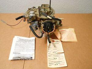 NOS Holley 2bbl L 2-3308 Model 5220 1979-82 Plymouth Horizon Omni 1.7 Liter
