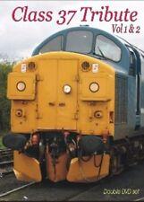 Class 37 Tribute Vol 1 & 2 DVD Traction Trains Diesel Electric Locomotives Rail