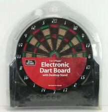 miniature desktop dartboard electronic halex new in package AA battery darts