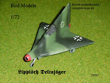 Lippisch  Deltajäger       1/72 Bird Models Resinbausatz / resin kit