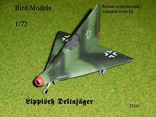 Lippisch  Deltajäger       1/72 Bird Models Resinbausatz / resin kit
