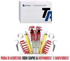 Assetto Ghiera Regolabile Ammortizzatori Technix -50mm Ford Fiesta V 2001-2008