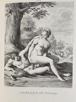 Agostino Carracci Erotik Penis Akt Vagina Angelica Medoro Antike Mythologie