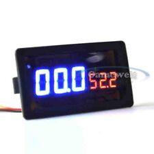 100V 100A DC Digital LED Amp Volt Combo Meter With Shunt for HHO EV car Solar #1