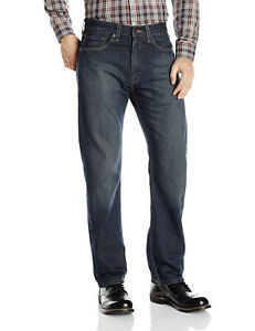 Signature by Levi's NEW Blue Mens Size 29X30 Classic Straight Leg Jeans $49 #009