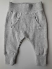 COTTON ON BABY BOY GIRL GREY FLEECY TRACK PANTS SIZE 000 FITS 0-3M WORN ONCE