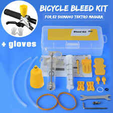 Hydraulic Bicycle Bike Disc Brake Bleed Tool Kit For EZ Shimano Tektro Magura