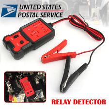 Portable Electronic Automotive Relay Tester 12V Diagnostic Auto Battery Checker