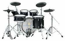 """Top E-Drum Set mit Mesh Heads, Holzkessel, 20"""" Kick, 720 Sounds und echter HiHat"""