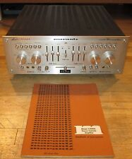 MARANTZ 1300DC INTEGRATED STEREO AMPLIFIER WORKS PERFECT A+ FULL RECAP & MANUAL