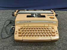 Smith Corona SM Coronet Super 12 Electric Typewriter Vintage Brown Machine Work