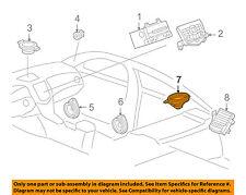 Chevrolet GM OEM 11-15 Cruze Stereo Audio Radio-Package Tray Speaker 95996730