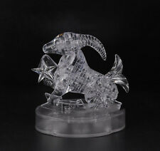 3D Crystal Puzzle Jigsaw Scorpio Scorpion White Clear Signs of Zodiac 41PCS