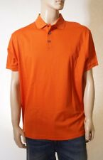 Ralph Lauren Purple Label Men Orange Short Sleeve Rugby Polo Shirt XL Italy $350