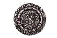 hübsche Dirndl Tracht Gewand Knöpfe aus Metall silber antik 5 Stück