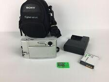 Sony Cyber-Shot DSC-T30 7.2MP 3x Optical Zoom -Silver- Digital Camera