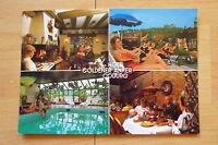 alte Ansichtskarte Coburg Hotel Goldener Anker