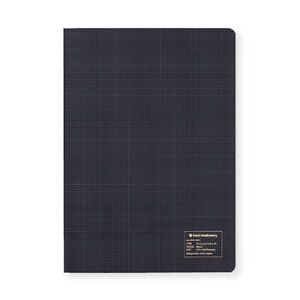 Kleid Grid Notes A5 Notebook - Cream Paper - 3 colors