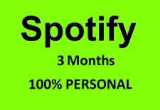 ✅ Spotify PREMIUM Private 3 Months 90 days ✅FULL NEW SUBSCRIPTION ✅FAST DELIVERY