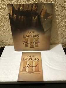 Age of Empires lll Collector's Edition Replacement Players Guide And Manual