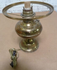 Vintage Brass Magnet Oil Lamp Converted to Electrical