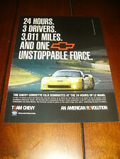 2006 CORVETTE C6 R   ***ORIGINAL AD***