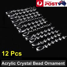Acrylic Crystal Bead Droplet Wedding DIY Hanging Strand Drop Chandelier Curtain