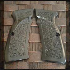 Fit CZ 75  CZ 85 Grips Full Size Black CZ 75 B, CZ 85  CZ Grips Screws Included