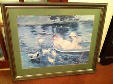 Framed Picture - ladies in a Boat