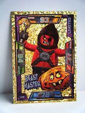 NUOVO RARO LEGO Nexo CAVALIERI Limited Edition BEAST MASTER TRADING CARD GAME Nexo