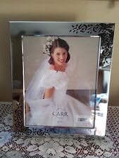 Carr Silver 8 x 10 Rose Wedding Frame