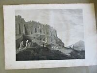 Early Engraving,1787,CHORAGIE MONUMENT,THRASYLLUS,Antiquities-Athens,1stED,Arch.