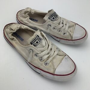 Converse Chuck Taylor All Star Low Shoreline Size Women's 9 Size White 537084F