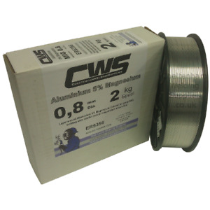 Aluminium MIG Welding Wire 5356 (NG6) 2kg 0.8mm Layer Wound. Free Delivery