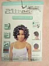 21 TRESS HL-Ginger 1B Black Premium RnB Collection 100% Malaysian Human Hair WIG