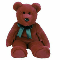 TY Beanie Buddy - CRANBERRY TEDDY (14 inch) - MWMTs Stuffed Animal Toy