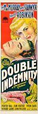 Double Indemnity Movie Poster Insert 14inx36in 36cmx92cm Replica