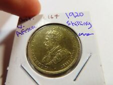 L167 British West Africa 1920 Shilling UNC
